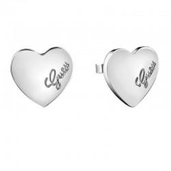 Buy Guess Ladies Earrings Heartbeat UBE61053 Heart