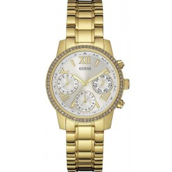 Guess Ladies Watch Mini Sunrise W0623L3 Chrono Look Multifunction