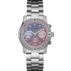 Buy Guess Ladies Watch Confetti W0774L1 Chrono Look Multifunction