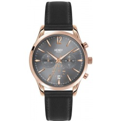 Henry London Unisex Watch Finchley HL39-CS-0122 Quartz Chronograph