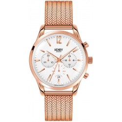 Buy Henry London Unisex Watch Richmond HL39-CM-0034 Quartz Chronograph