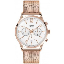 Buy Henry London Unisex Watch Richmond HL41-CM-0040 Quartz Chronograph