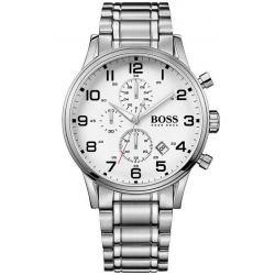 Buy Hugo Boss Men's Watch Aeroliner 1513182 Quartz Chronograph