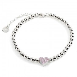 Jack & Co Ladies Bracelet Classic Color JCB0932 Heart