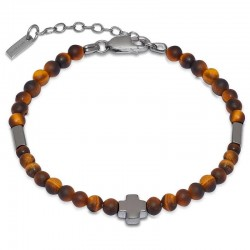 Buy Jack & Co Men's Bracelet Cross-Over JUB0002