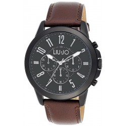Buy Liu Jo Luxury Men's Watch Jet TLJ826 Chronograph