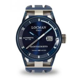 Buy Locman Men's Watch Montecristo Automatic 0511BLBLFWH0SIB