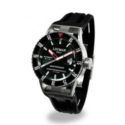 Buy Locman Men's Watch Montecristo Professional Diver Automatic 051300KRBKNKSIK