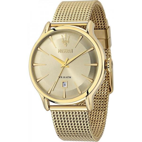 Buy Maserati Men's Watch Epoca R8853118003 Quartz