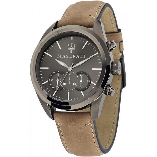Buy Maserati Men's Watch Traguardo R8871612005 Quartz Chronograph
