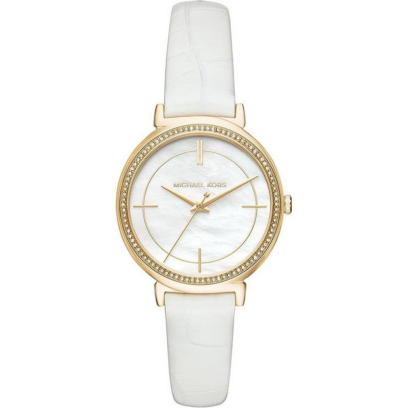 Michael Kors Ladies Watch Cinthia Mk2662 Mother Of Pearl Crivelli Shopping