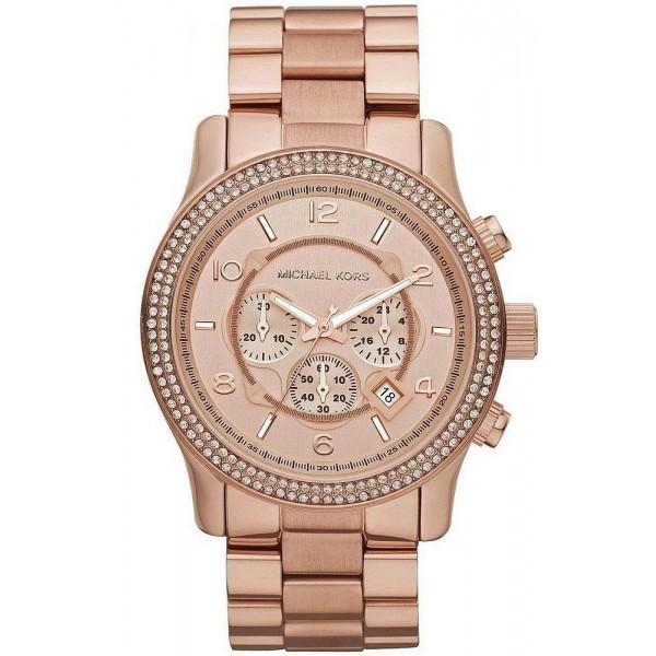 Buy Michael Kors Ladies Watch Runway MK5576 Chronograph
