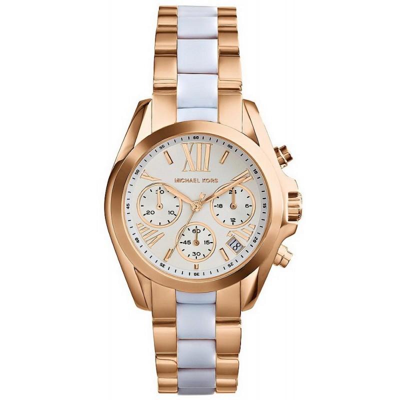 f6166d1f14f5 -12% Buy Michael Kors Ladies Watch Mini Bradshaw MK5907 Chronograph