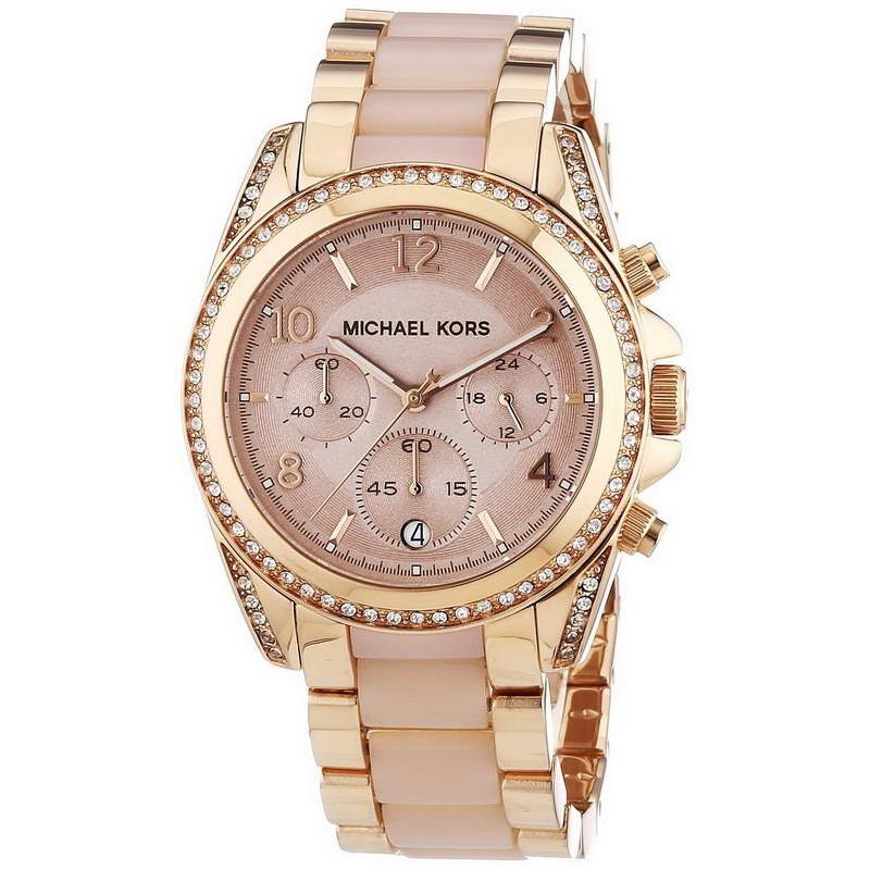ada6be3e4e4 Michael Kors Ladies Watch Blair MK5943 Chronograph - Crivelli Shopping