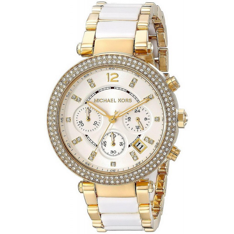 23e45e638995f Michael Kors Ladies Watch Parker MK6119 Chronograph - Crivelli Shopping
