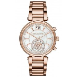 Michael Kors Ladies Watch Sawyer MK6282 Chronograph