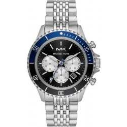 Buy Michael Kors Mens Watch Bayville MK8749 Chronograph