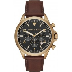 Buy Michael Kors Mens Watch Gage MK8785 Chronograph