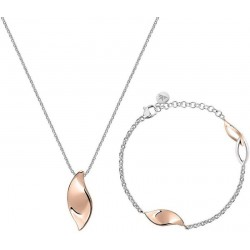 Buy Morellato Ladies Necklace + Bracelet Foglia SAKH47