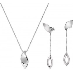 Buy Morellato Ladies Necklace + Earrings Foglia SAKH48