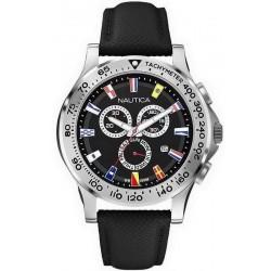 Nautica Men's Watch NST 600 Flag A19595G Chronograph