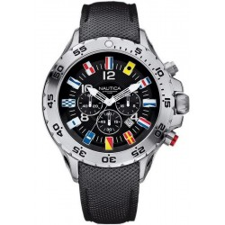 Nautica Men's Watch NST Flag A24520G Chronograph