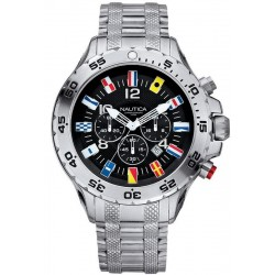 Buy Nautica Men's Watch NST Flag A29512G Chronograph