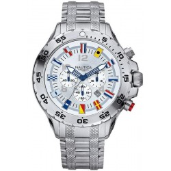 Nautica Men's Watch NST Flag A29513G Chronograph