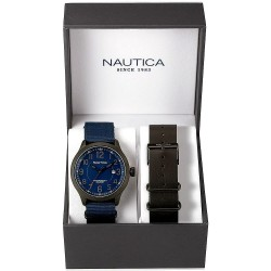 Nautica Men's Watch NCC 01 Date Box Set NAI14519G