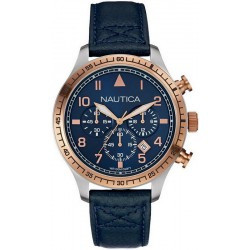Nautica Men's Watch BFD 105 NAI17500G Chronograph