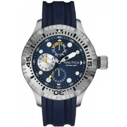 Buy Nautica Men's Watch BFD 100 Box Set NAI17512G Multifunction