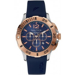 Buy Nautica Men's Watch BFD 101 Dive Style NAI19506G Chronograph