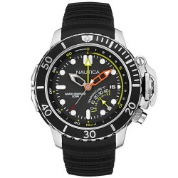 Nautica Men's Watch NMX Diver NAI47500G Multifunction