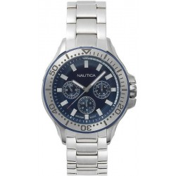 Buy Nautica Men's Watch Auckland NAPAUC001BR Multifunction