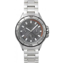 Buy Nautica Men's Watch Auckland NAPAUC002BR Multifunction
