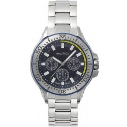 Buy Nautica Men's Watch Auckland NAPAUC003BR Multifunction