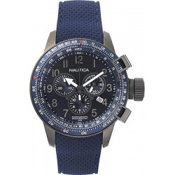 Buy Nautica Men's Watch Galley Box Set NAPGLY001 Chronograph