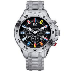 Nautica Men's Watch NST Flag A29512G Chronograph