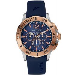 Nautica Men's Watch BFD 101 Dive Style NAI19506G Chronograph