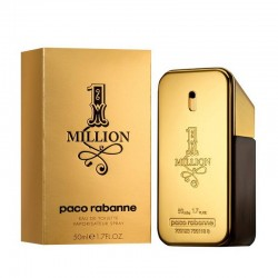 Paco Rabanne One Million Perfume for Men Eau de Toilette EDT Vapo 50 ml