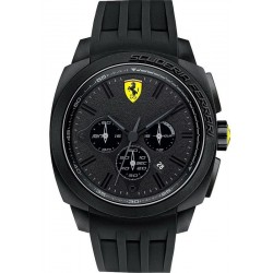 Buy Scuderia Ferrari Men's Watch Aerodinamico Chrono 0830114