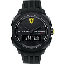 Buy Scuderia Ferrari Men's Watch Aerodinamico Chrono 0830122