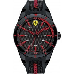 Buy Scuderia Ferrari Men's Watch Red Rev 0830245