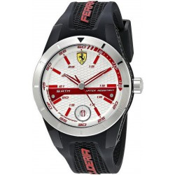 Buy Scuderia Ferrari Men's Watch Red Rev 0830250