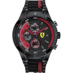 Scuderia Ferrari Men's Watch Red Rev Evo Chrono 0830260