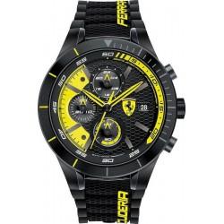 Buy Scuderia Ferrari Men's Watch Red Rev Evo Chrono 0830261