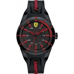 Buy Scuderia Ferrari Men's Watch Red Rev 0840004