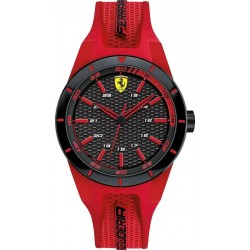 Buy Scuderia Ferrari Men's Watch Red Rev 0840005