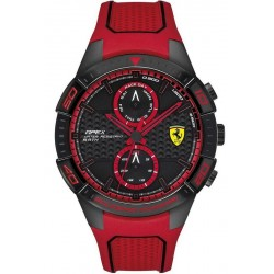 Buy Scuderia Ferrari Men's Watch Apex 0830639 Multifunction