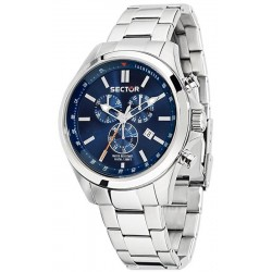 Sector Men's Watch 180 R3273690009 Quartz Chronograph